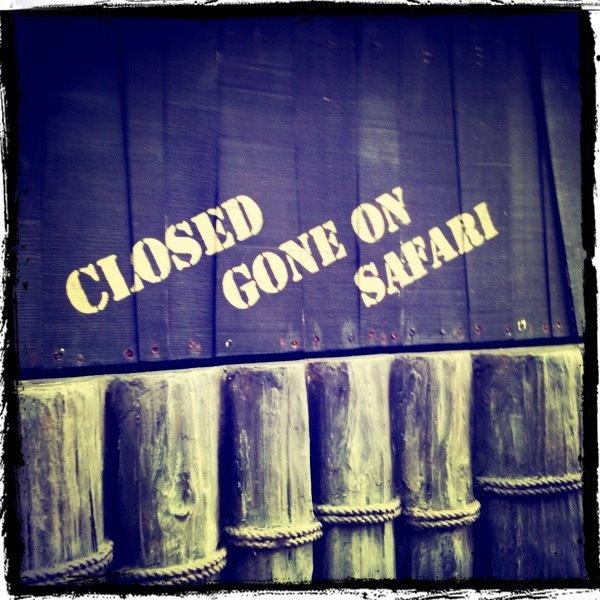 Gone for Safari
